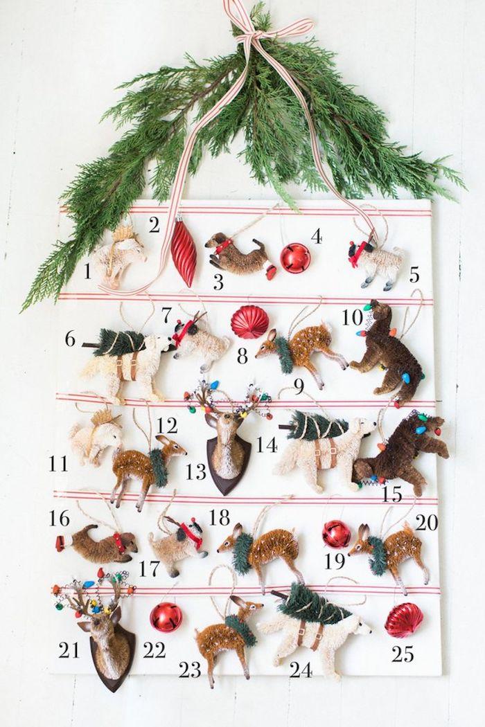 idée de figurines onrements sapin de noel petites decorations originales pour votre calendrier de l avent a fabriquer
