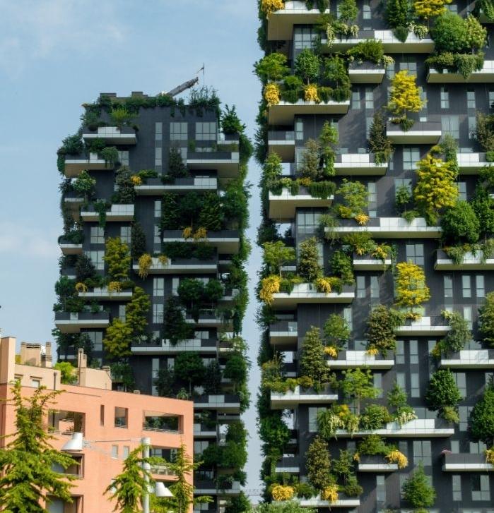 les batiments de demaine des batiments ecologiques conçues grâce à bim architecture