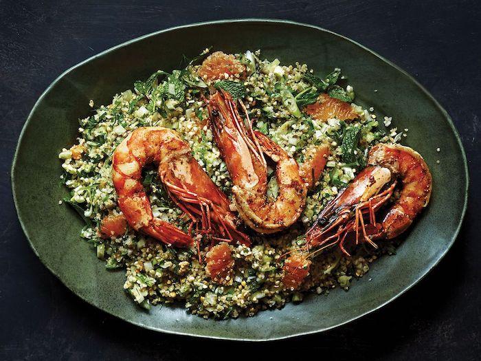 salade avocat cerevette avec de gruau recette facile et nourrissante pour l hiver