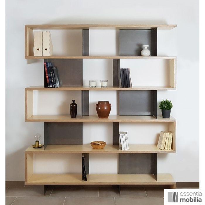 bibliotheque bois et metal sur mesure swing comment choisir sa bibliotheque design