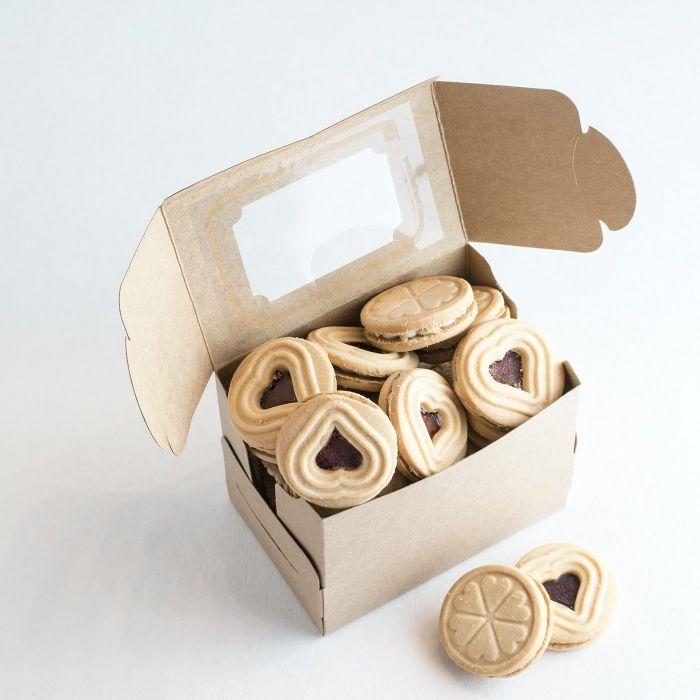 boîte à biscuit produit siglé idée cadeau d entreprise gourmand pour les employés