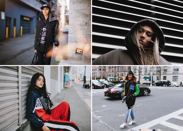 comment bien s habiller femme outfit streetwear hiver survetements casquette noire capuche