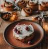 comment faire brioche de noel recette originale de brioche à la farce cassonade cannberges et flaçage crème