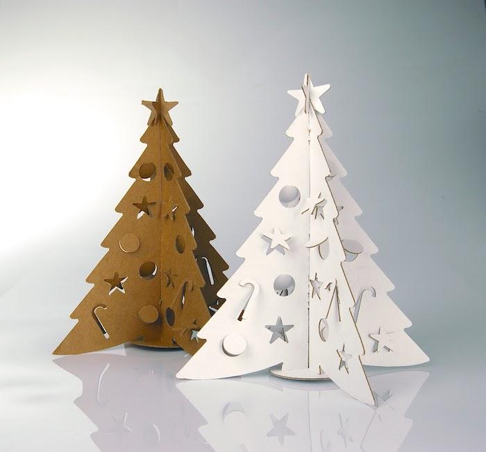 fabriquer un sapin de noel en carton des idee d activites hivernales a la maison