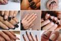 La manucure noire : 50 façons inspirantes de l'adopter cet hiver