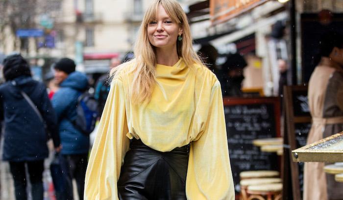 street style paris fashion week womenswear fall/winter 2020/2021 : day eight