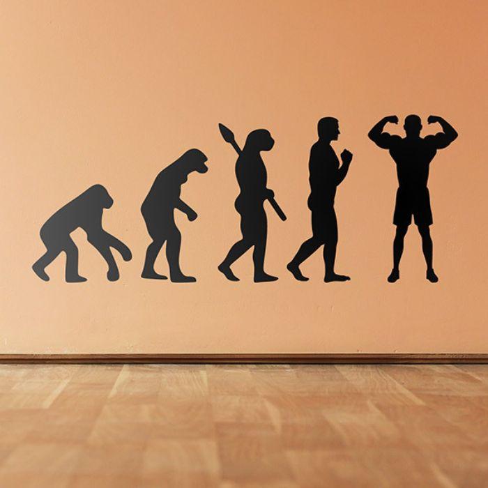 exemple stickers muraux banane de warhol idée de sticker art contemporain autocollant