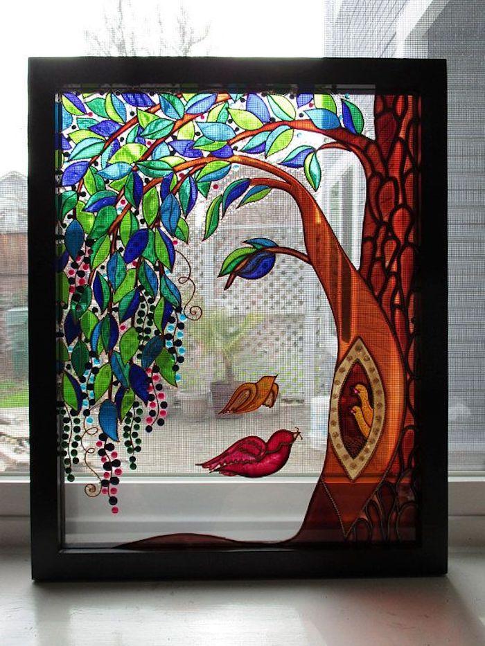 peindre sur verre avec des peintures acryliques ou d epoxy un tableau avec une femme portrait