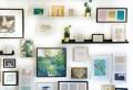 7 idées comment décorer vos murs vides : affiche à encadrer