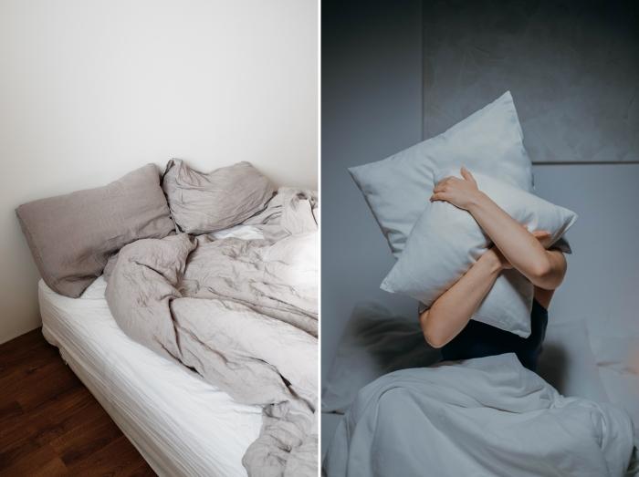 perturbation sommeil stress infestation puces de lit lingerie vêtements comment détecter insectes minuscules