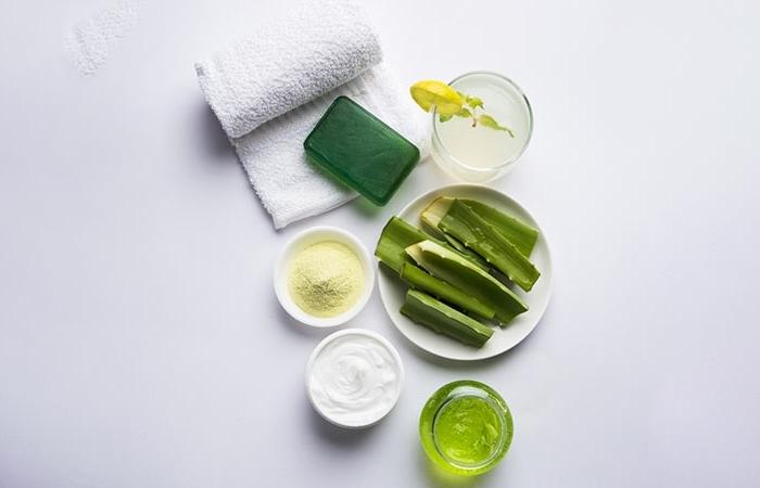 comment faire savon aloe vera ingrédients naturels produits soins corps fait maison plante aloe