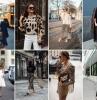 comment porter le dessin léopard tenue classe femme blazer noir tunique léopard chaussures noires