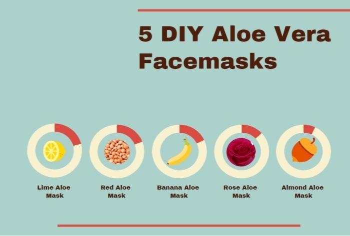 comment utiliser l aloe vera sur la peau recette masque avec aloe vera pour visage ingrédients