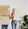 couple nouveau domicile déménagement clés réussite préparations résilition contrat électricité