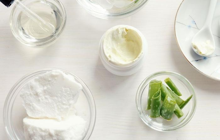 creme visage maison aloe vera diy recette soins beauté produits feuille gel extraction