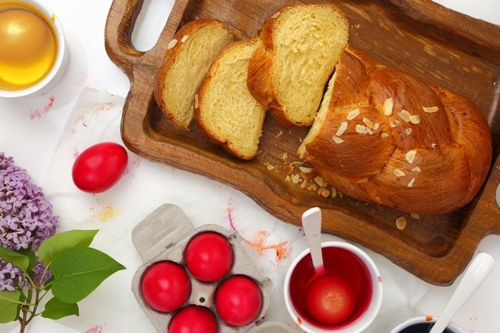 brioche sans oeuf ingrédients préparation pâte sucrée sucre amandes effilées jus de citron