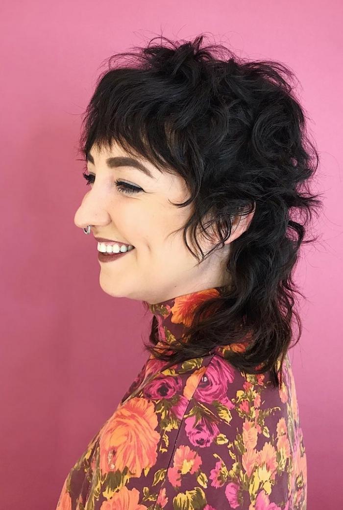 coiffure tendance texture pour cheveux fins idée coupe degradé structure cheveux ondulés volume