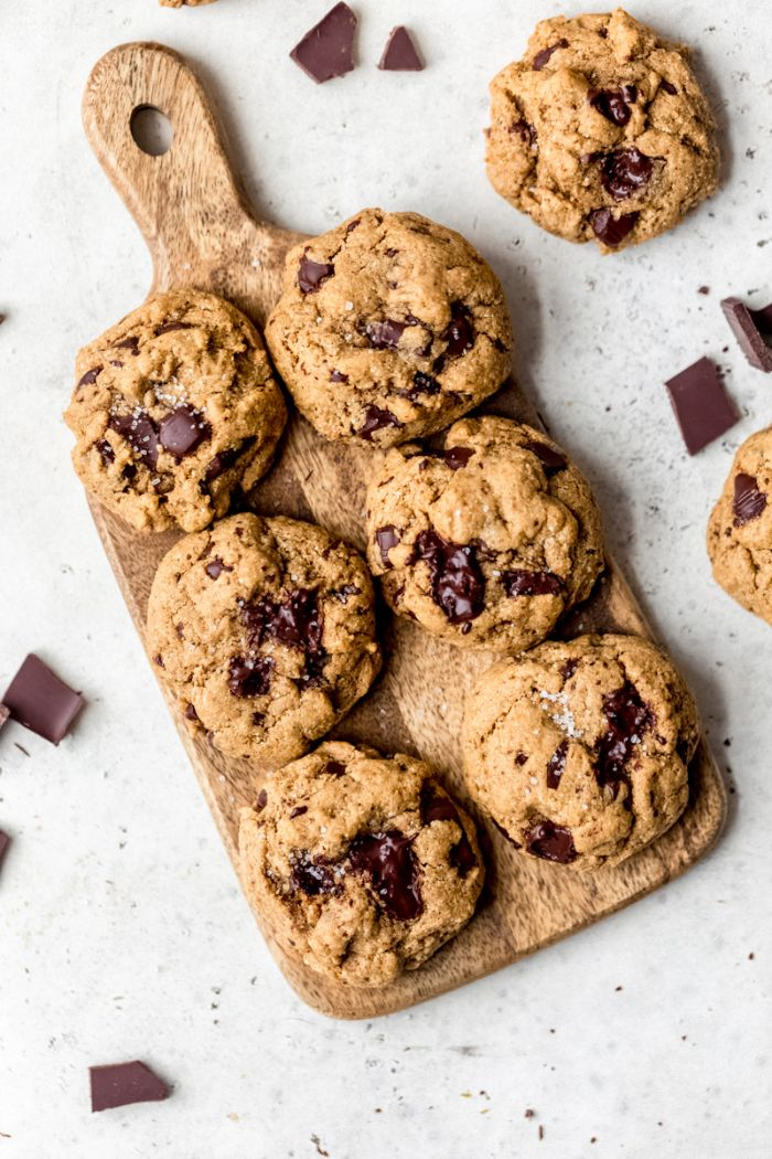 comment faire des cookies au beurre d arachide pépites de chocolat farine de coco et farine d amande