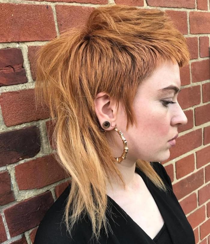 coupe de cheveux femme tendance couleur de cheveux texture chevelure fin idée coupe degrade