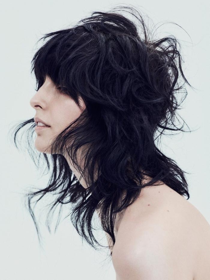 coupe mulet femme longueur volume texture pour cheveux fins coupe de cheveux femme 2021