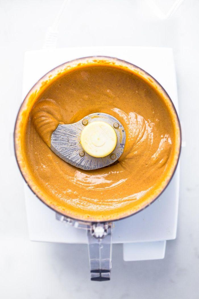 mélange recette beurre de cacahuète maison beurre de noix a faire soi meme facilement