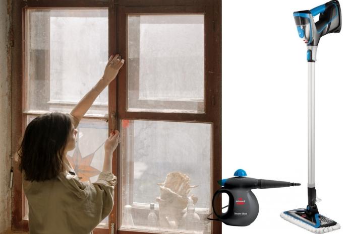 nettoyage fenêtre facile appareil nettoyeur vapeur quel type balai vapeur a main nettoyeur vapeur pour vitres