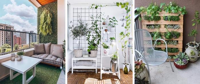 quelles plantes pour mur vegetal exterieur herbes jardinieres plantes fleuries que faire avec palettes bois