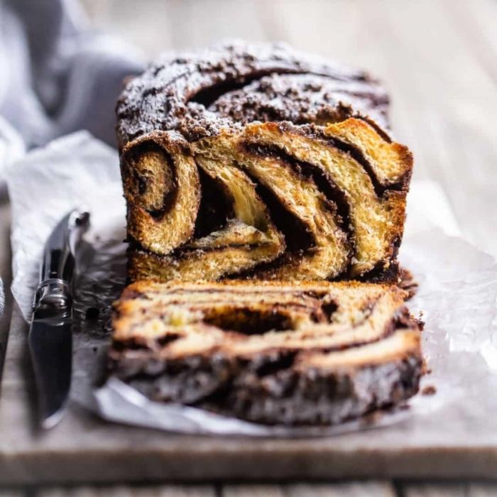 recette brioche feuilletée chocolat fondu préparation brioche moelleuse ingrédients farine oeuf