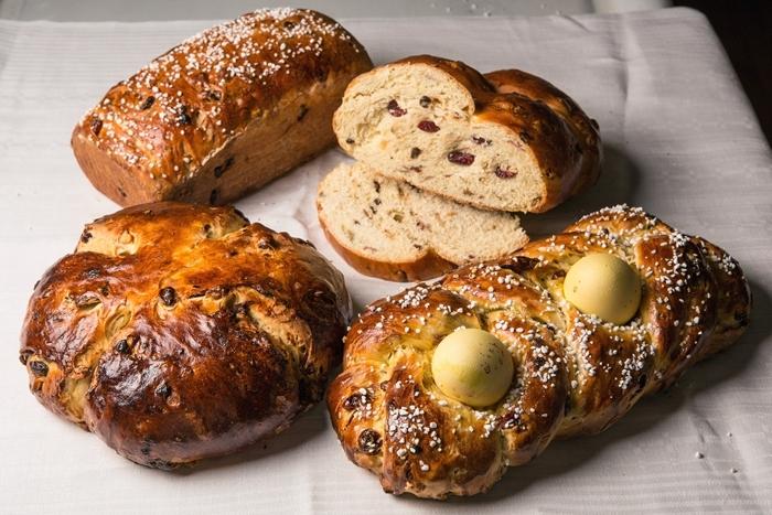 recette de la mouna facile et rapide fruits séchées noix graines décoration brioche formes diverses