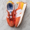 sneakers new balance couleur orange rouge blanc unisex