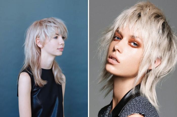 tendance coupe de cheveux femme 2021 coupe mulet femme cheveux texture structure