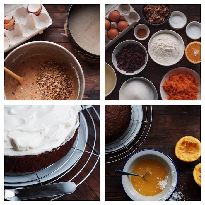 comment faire un gateau de fete aux carottes et jus d orange etape par etape