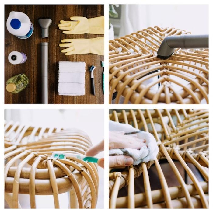 comment teindre du rotin eet les etapes de préaparation du meuble