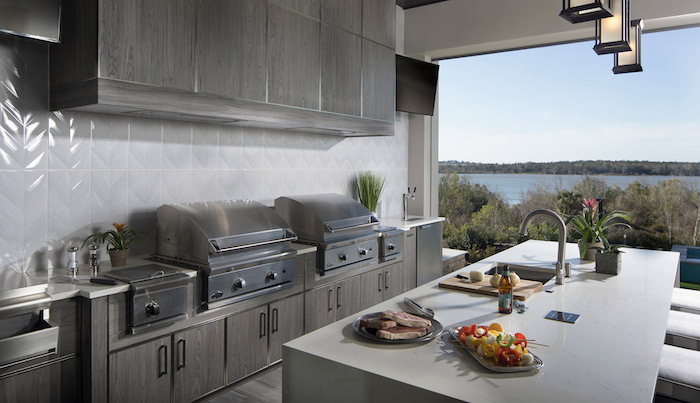 outdoor kitchen with a view by jeff davis nahb montverde florida