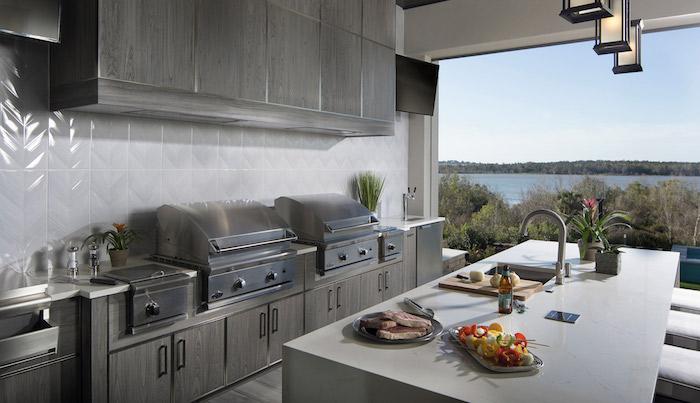 outdoor kitchen with a view by jeff davis nahb montverde florida