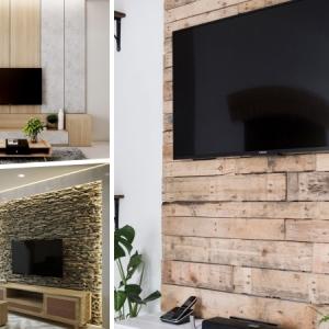 Déco et habillage du mur derrière tv : nos conseils malins pour sublimer le coin télé