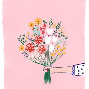 Dessin bouquet de fleurs pour débutant - idées d'art qui s'épanouissent