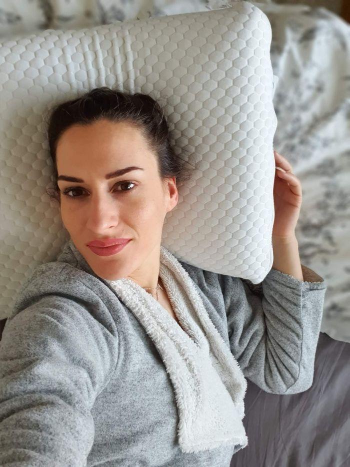 oreiller pour arthrose cervicales modele ergonomique oreiller de qualité de chez mon oreiller et moi