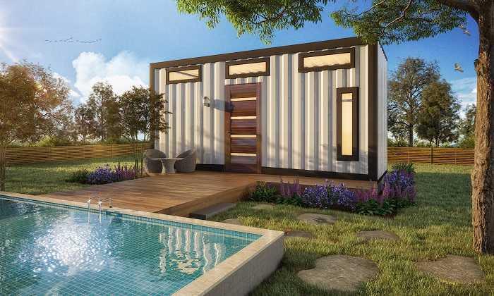 petite mini maison container