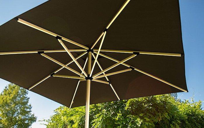 quelle toile de parasol choisir exemples de parasols pour le jardin et la terrasse