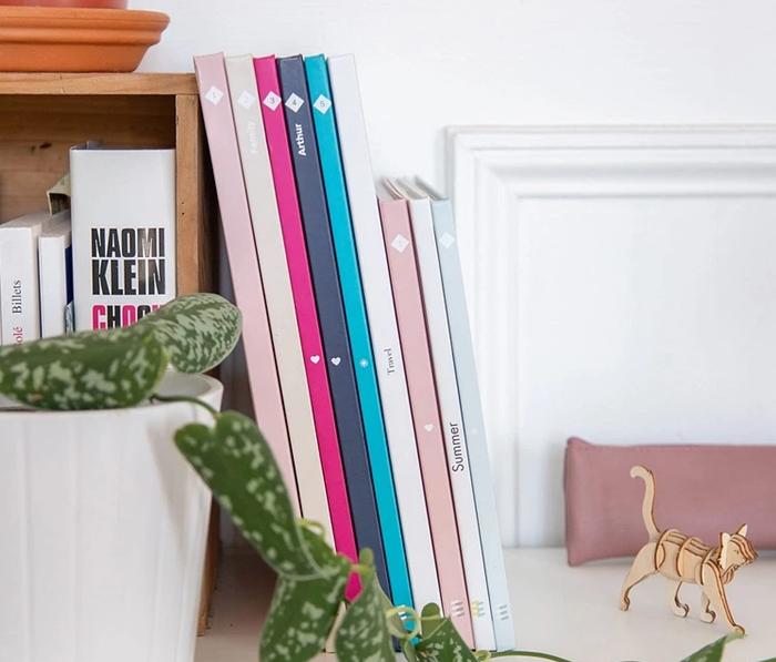 collection album photo design personnalisable couverture rigide cadeau personnalise