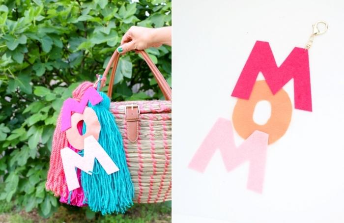 glands tassels laine cadeau fait main pour maman comment personnaliser un basket tressé
