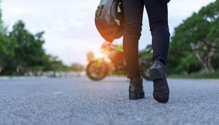 media equipement conduite urbaine motard