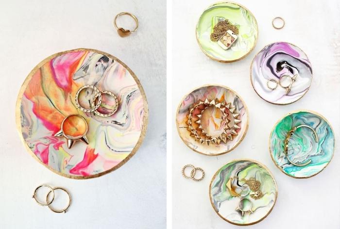 porte bijoux fait maison argile création comment faire un cadeau pour sa maman facile bricolage ado