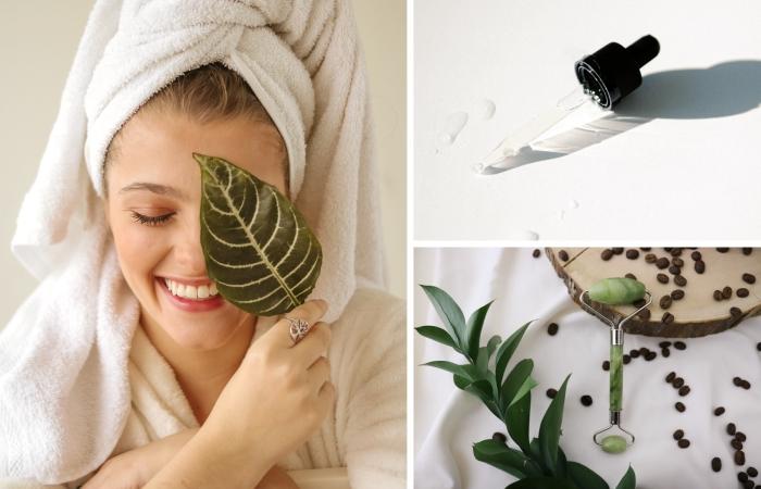 routines beauté soins corps et visage produits cosmétiques essentiels minimalisme consommation