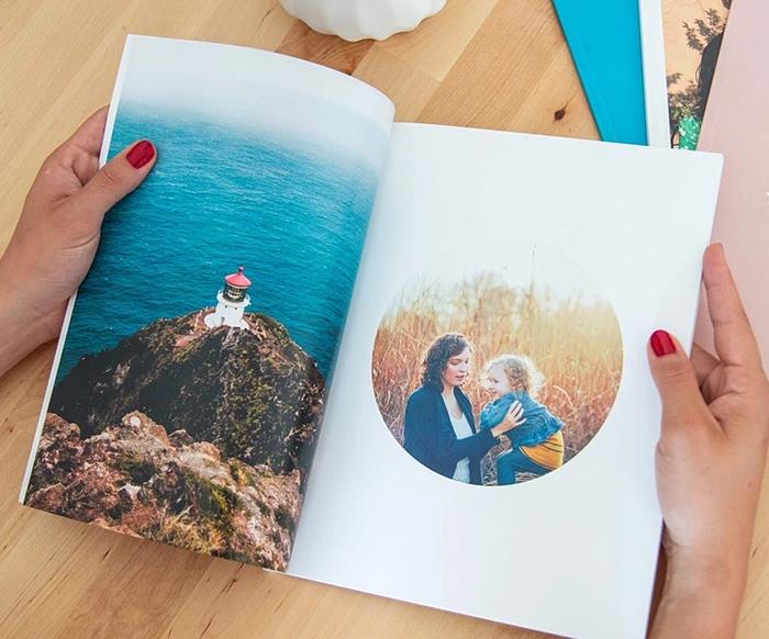 souvenirs photographies impression album photo personnalise creation en ligne
