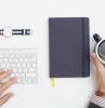 tasse café comment ranger son bureau office clavier montre accessoire bracelet cuir