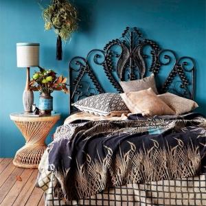 Idées inspirantes de tête de lit bohème