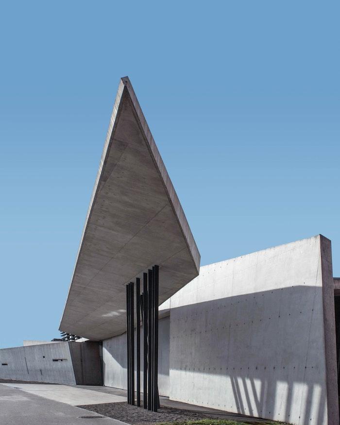 immeuble en béton et acier exemple comment construire un immeuble contemporain original robuste
