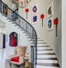 stair wall decor ideas 27 stylish staircase decorating ideas how to decorate